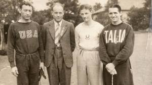 Glenn Cunningham, Paavo Nurmi, Jack  Lovelock, Luigi Beccali
