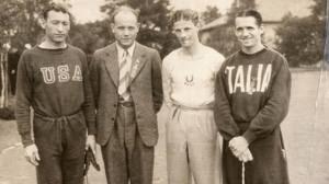 Glenn Cunningham, Paavo Nurmi, Jack  Lovelock, Luigi Beccali