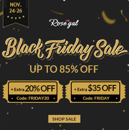 Black Friday Rosegal