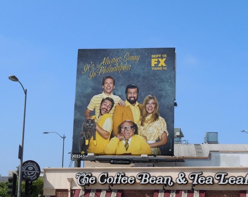 Always Sunny Philadelphia 7 billboard
