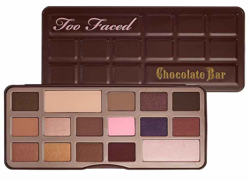 Too Faced chocolate bar palette, fashion and cookies, fashion blog