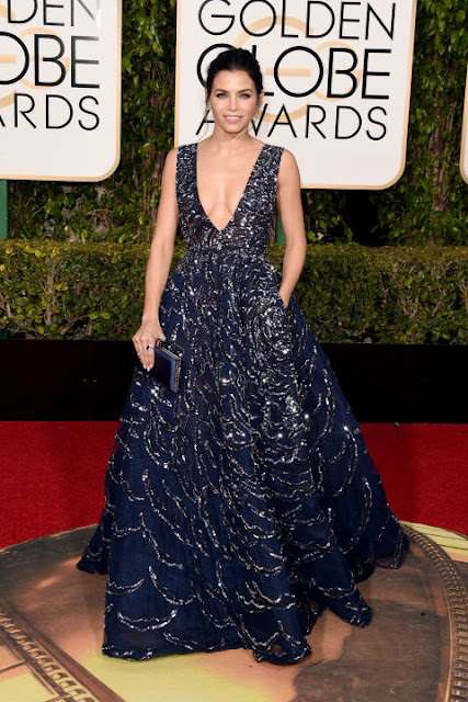 Jenna Dewan Tatum Zuhair Murad Golden Globes 2016