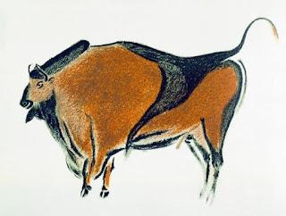 نقش لحيوان البيزون مِن كهف ألتاميرا بأسبانيا
