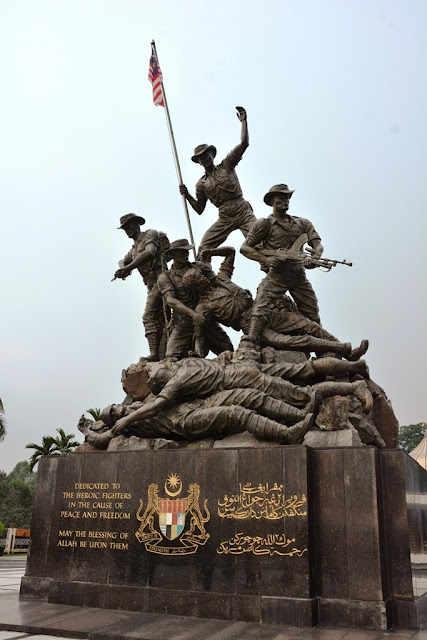 National Monument KL bronze