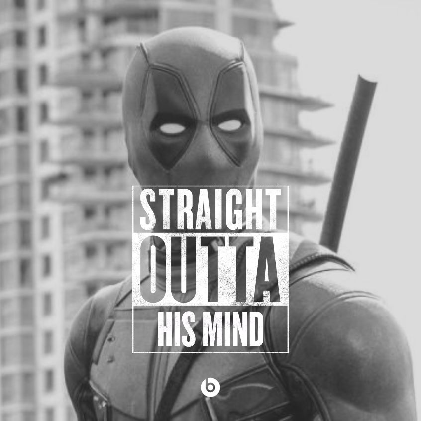 straight outta compton image creator is great for deadpool