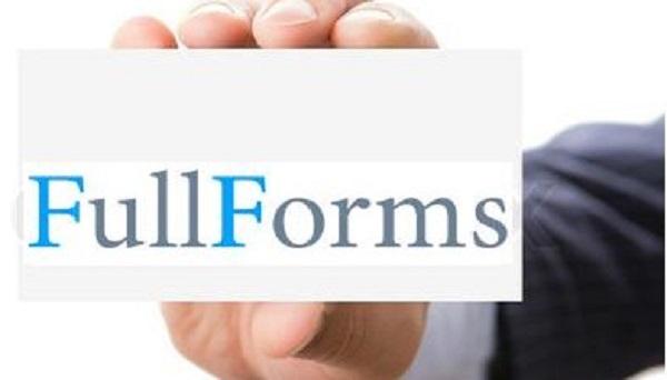 Some Useful FullForm (Computer Related) | IT KEEDA