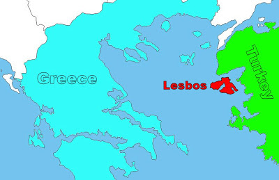 Where to find Lesbos