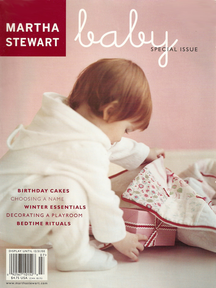 Zeer MARTHA MOMENTS: Remembering: Martha Stewart Baby QO-46