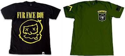 Fur Face Boy Series 4 T-Shirt Collection - Smells Like FFB &amp; Private FFB T-Shirts