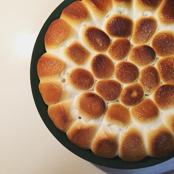No bonfire, no problem. Oven-baked s'mores.