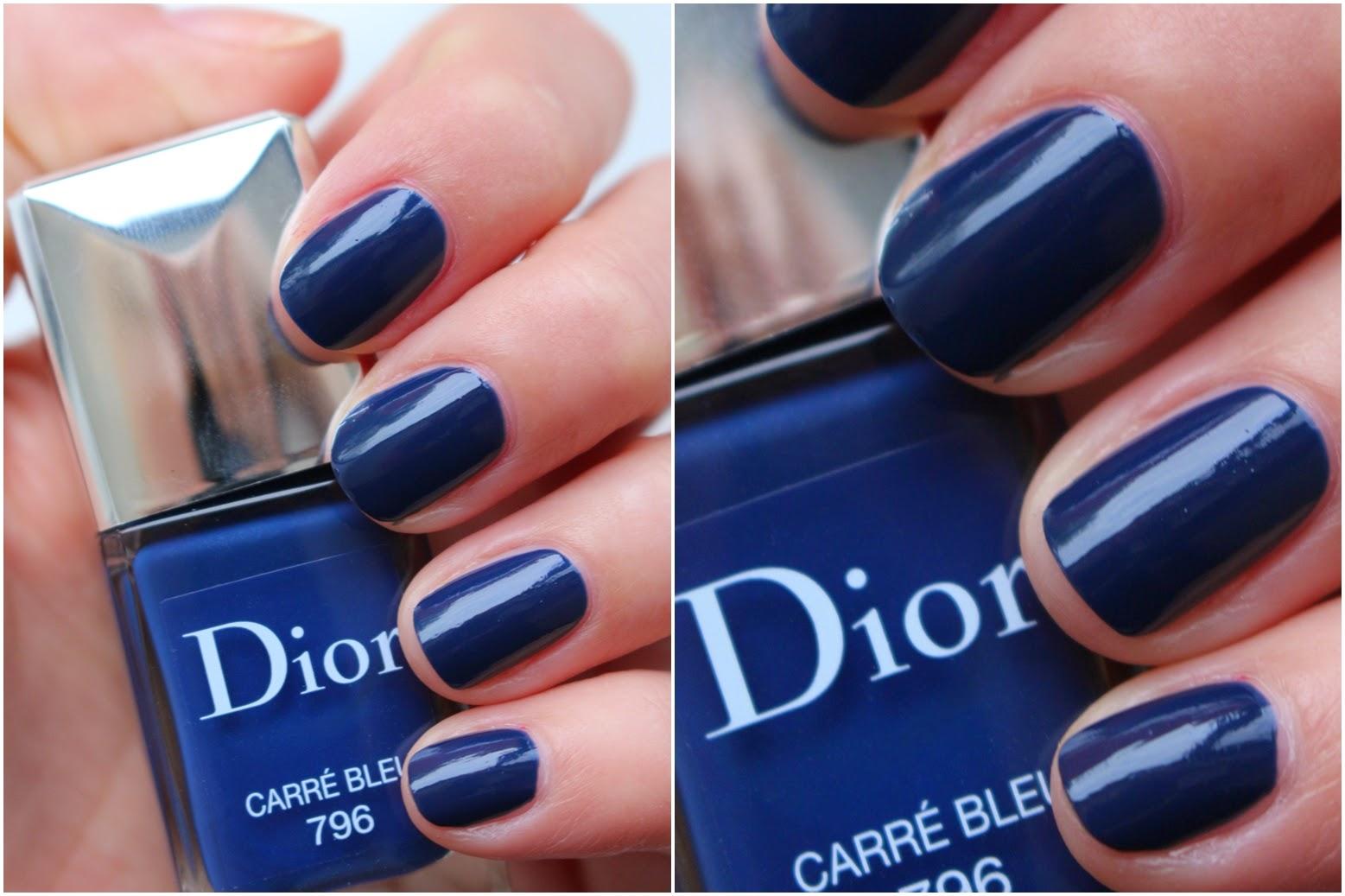 Dior Vernis 796 Carré Bleu