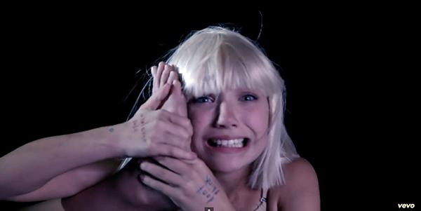 Maddie ziegler chandelier hands
