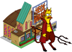 Devil Flanders + Heck House