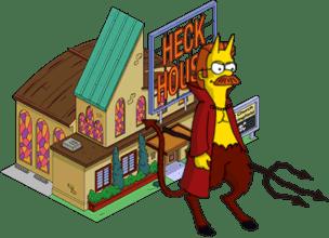 Devil Flanders + Heck House