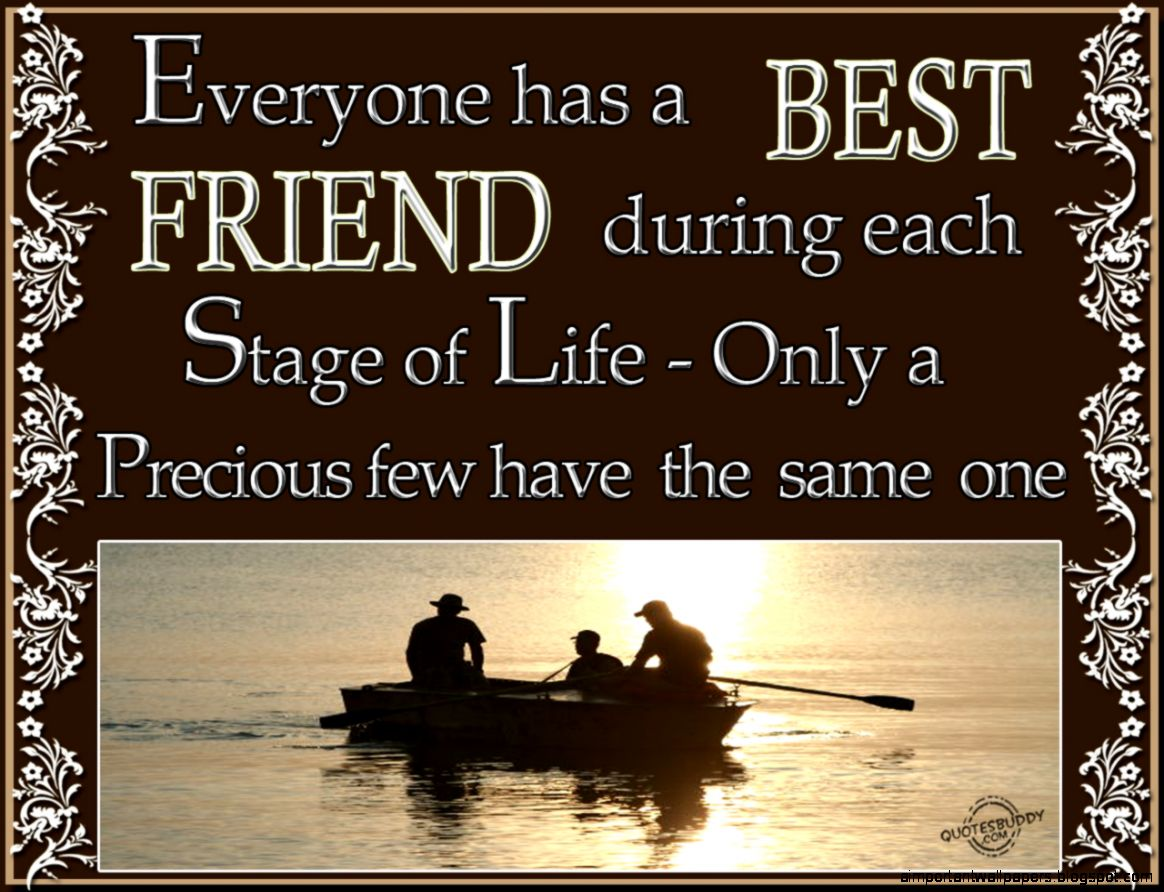 Ideal Best Friend Quotes Important Wallpapers