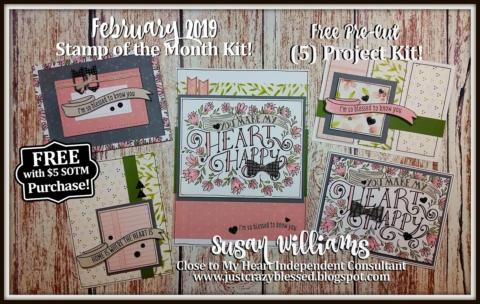 February 2019 Stamp of the Month Workshop!