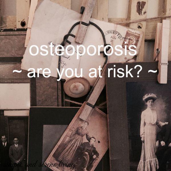 osteoporosis risks