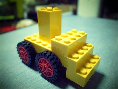レゴ ブルドーザー 中くらい