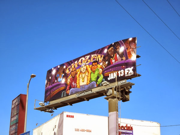 Chozen FX billboard