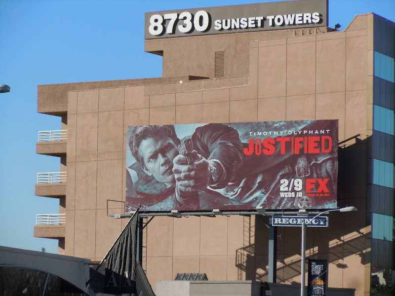 Justified season 2 billboard