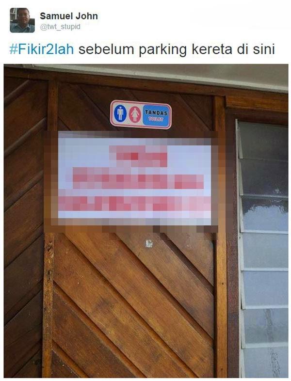 Amaran tandas yang paling unik di Malaysia