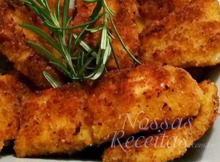 Receita de Nuggets preparados com peixe