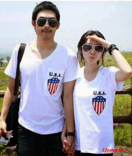 Couple USA Vneck , download baju couple