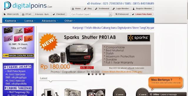 digitalpoins toko online kamera terpercaya