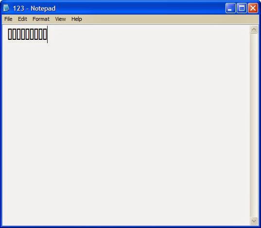 Error In Notepad ! Like a Magic !!!!
