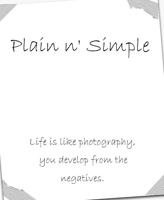 Plain n' Simple