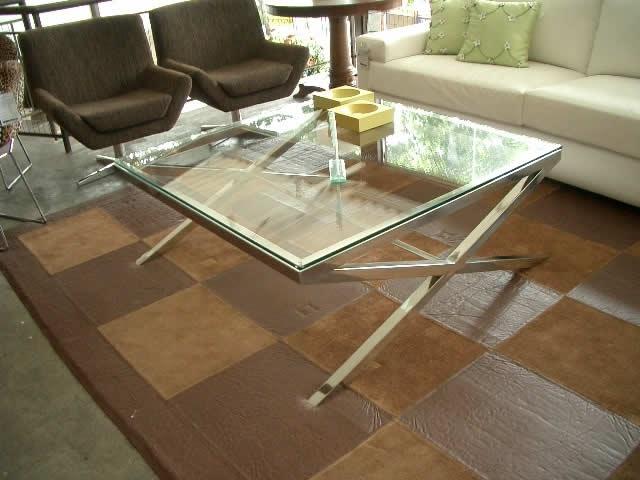 Armario Madeira Cozinha ~ Mesa de centro em aço inox e vidro Design Inox