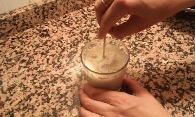 mezclar la cuajada