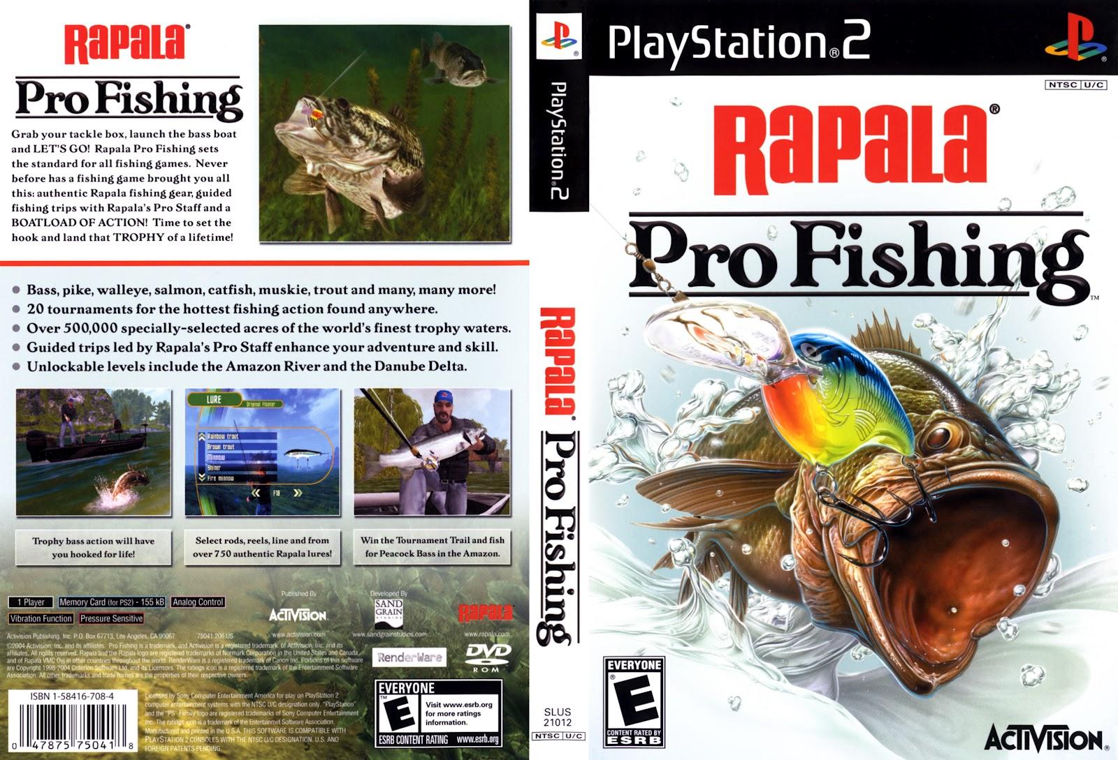 End ps2 games melhor blog de ps2 rapala pro fishing ps2 for Playstation 4 fishing games