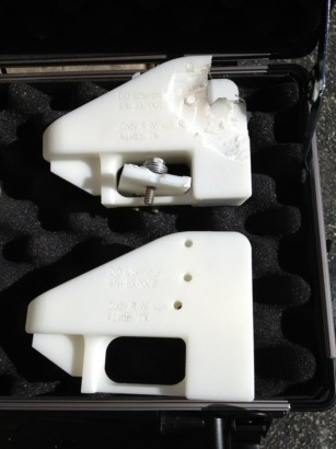 Primera pistola hecha impresora 3D