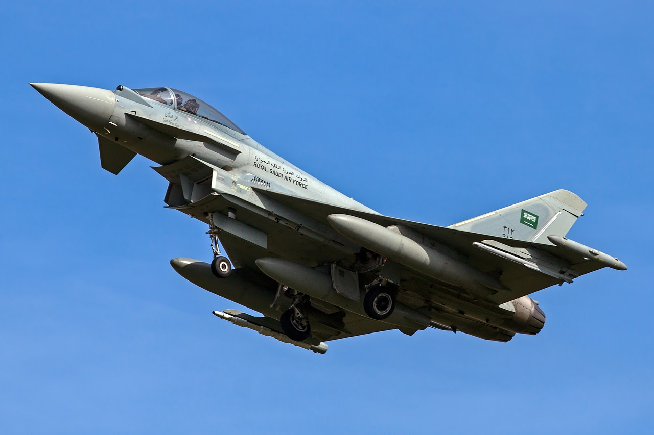 Royal Saudi Air Force (RSAF) Eurofighter Typhoon Fighter Aircraft | Global Military Review Air Force Fighter Jets