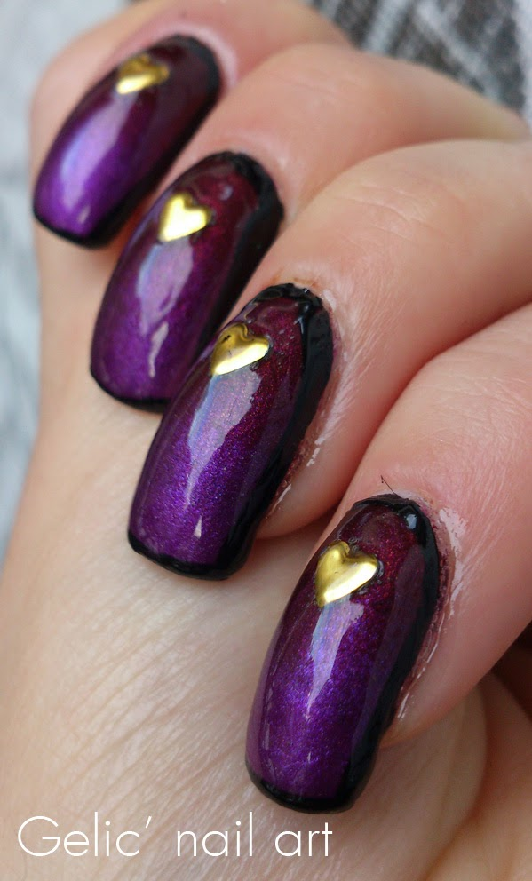 http://gelicnailart.blogspot.se/2014/02/heart-metal-studs-on-gradient.html