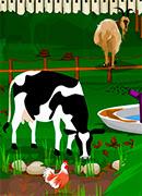 Уборка на ферме - Онлайн игра для девочек