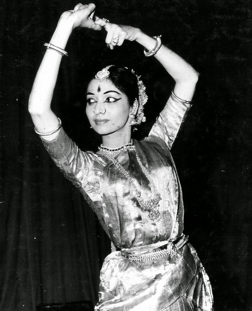 Eminent Indian Bharatnatyam and Kuchipudi Dancer Yamini Krishnamurthy - 1964