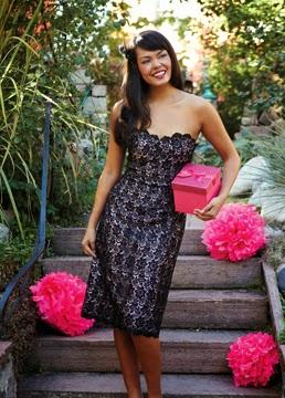 Moja čipkana haljina u Sew News časopisu