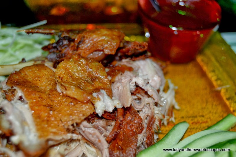 Chop Suey restaurant's shredded crispy duck