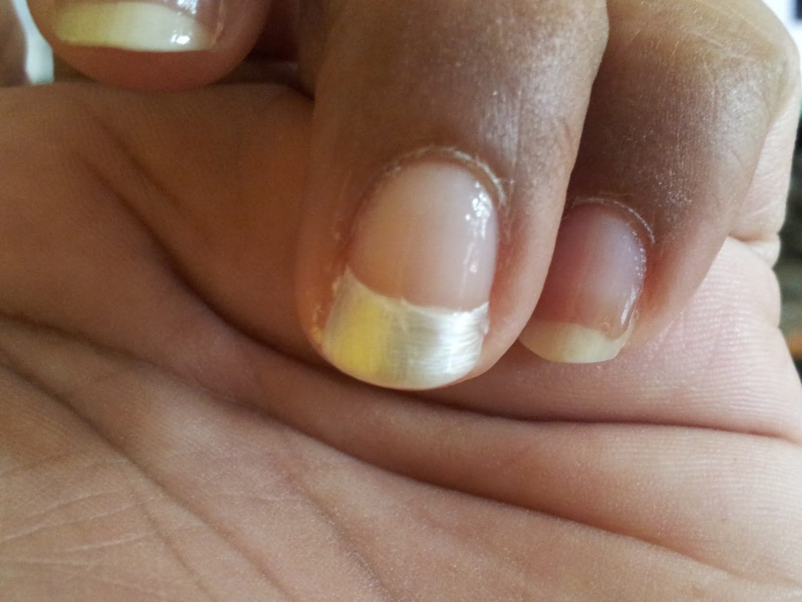 French Tip Ideas: French Tip Border with Swarovski Crystals | Sugar ...