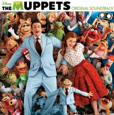 Disney, The Muppets, 2011, soundtrack, movie, cd, audio, box, art