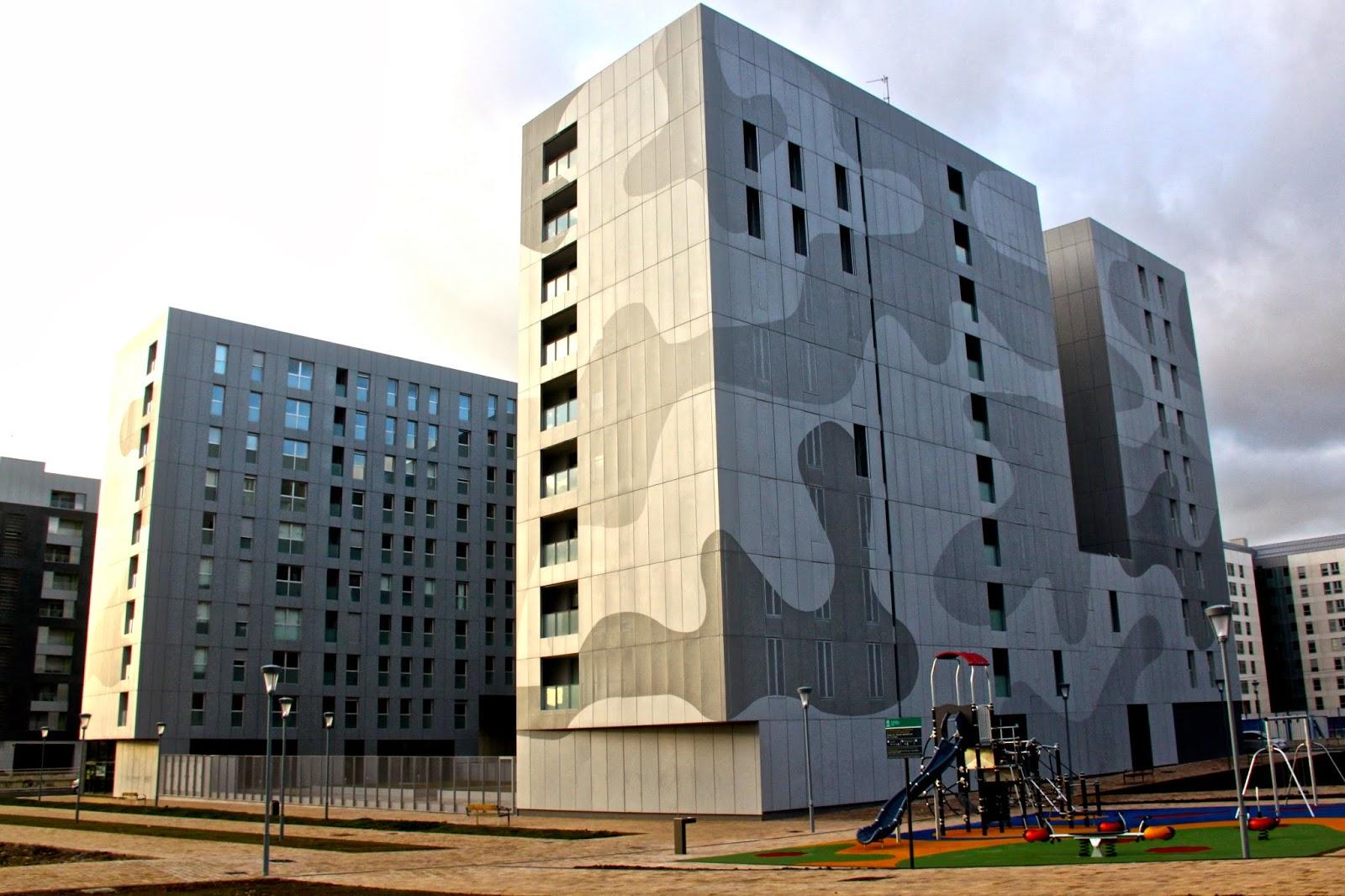 Imar arquitectura metal architecture metal sector larrein viviendas salburua vitoria - Arquitectos en vitoria ...