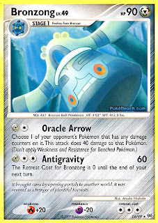 Bronzong Pokemon Card Arceus Set