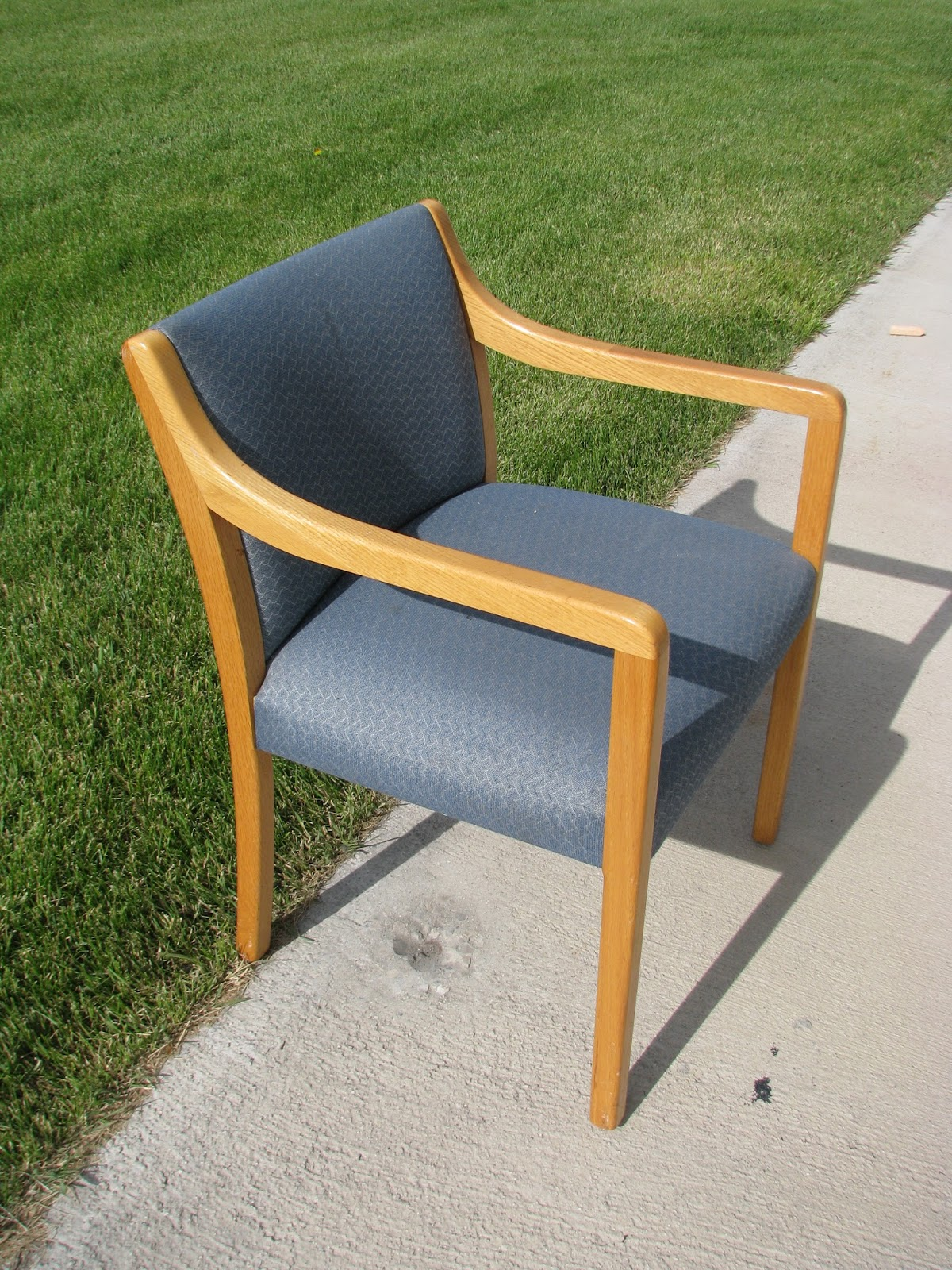 My So Called DIY Blog How to Reimagine a Waiting Room Chair