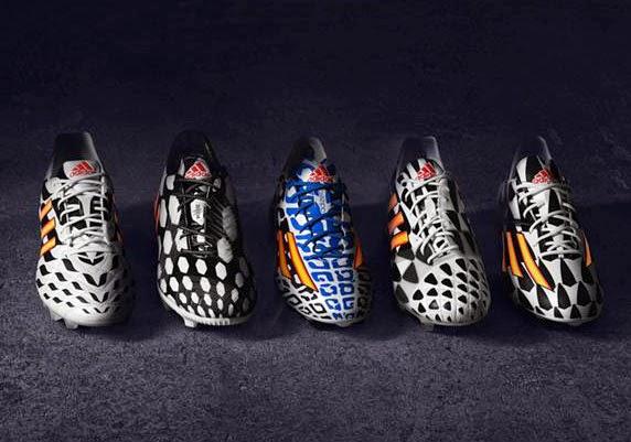 adidas Battle Pack nueva colección botas de fútbol Mundial Brasil 2014