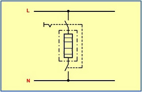Electrical circuit drawings double pole switch