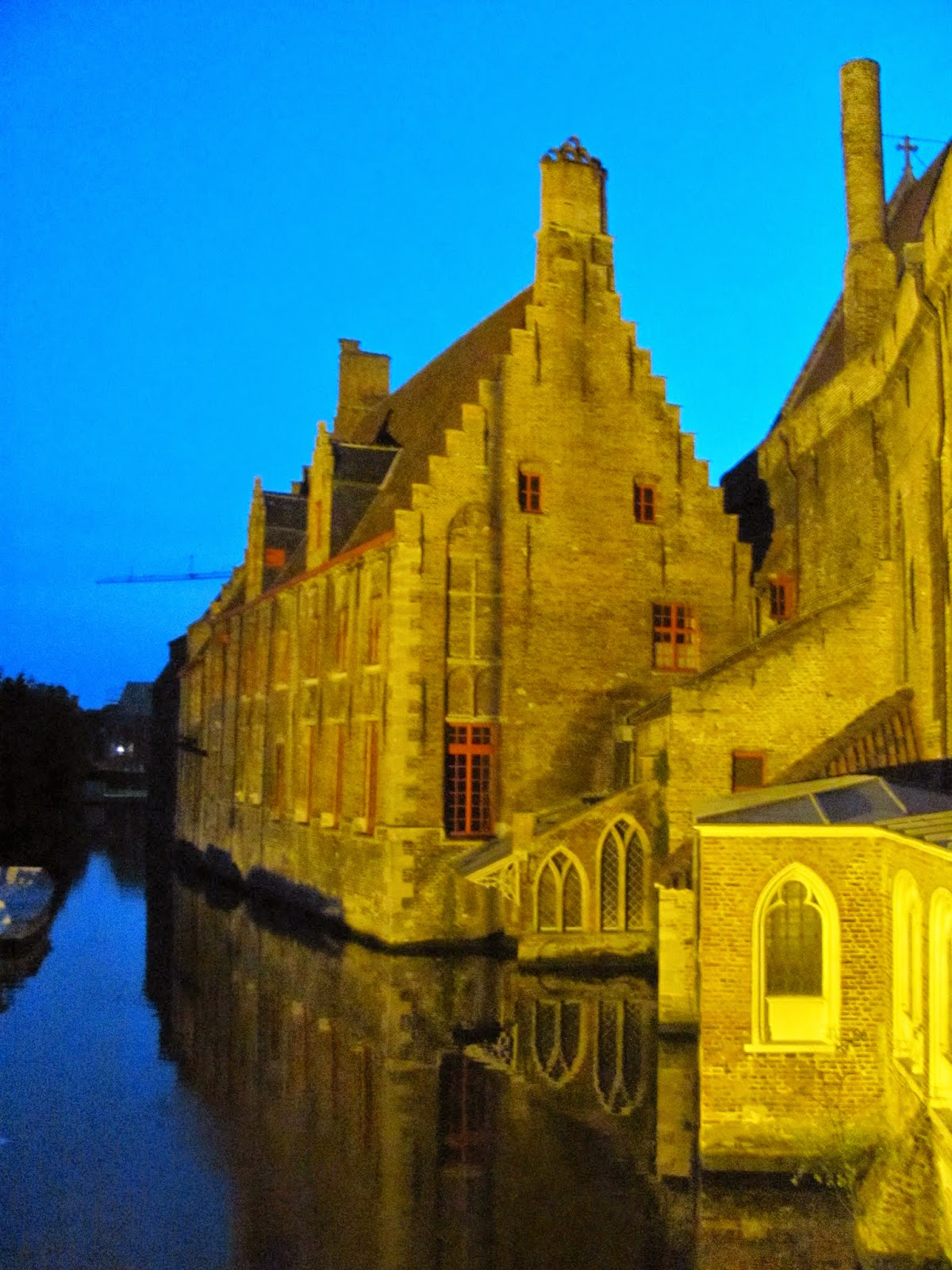 Gabled Roof on the Canal Bruges