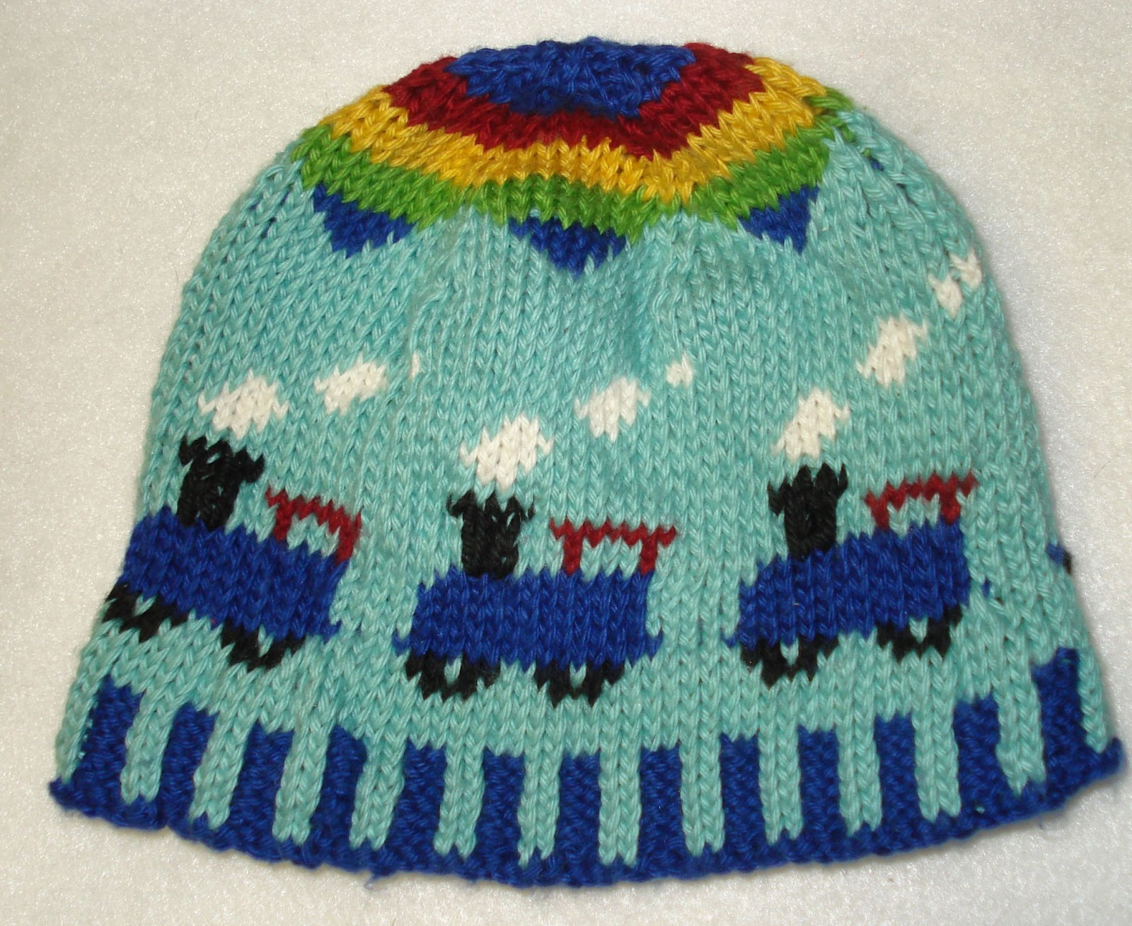 Train Knitting Pattern : Mix Me Up!: The train hat (finally)