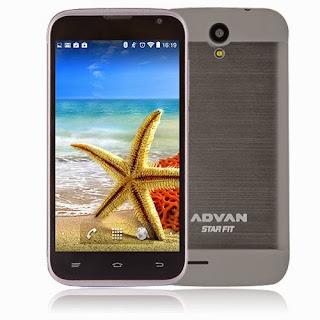 Advan Star Fit, HP Android Kitkat Termurah Di Bawah 1 Juta